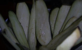 Баклажаны запеченые с пармезаном