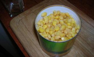 """Салатик """"кальмар+кукуруза"""""""