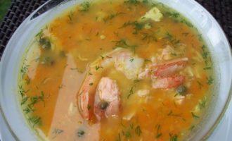 Суп из рыбы и морепродуктов -вариант !!!!
