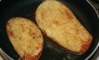 Baked eggplant rollatini.