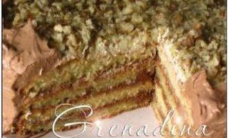 Торт «нежное удовольствие»