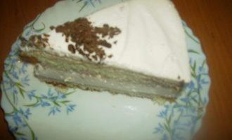 """Нежный """"вишнёвый тортик"""""""