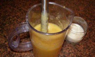 Персиковый коктейль от мнухи