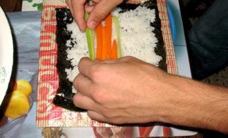 Вегетарианские суши-маки