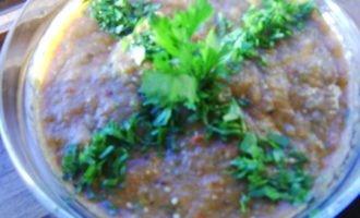 Кьополу (баклажаны с овощами)