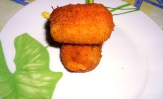 Куриные бочоночки с картофелем