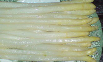 Запеканка из спаржи,ветчины и картофеля
