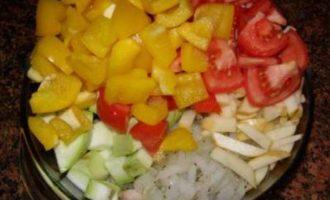 Курочка, да с овощами:)
