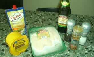 Куриная грудка и картошка в духовке