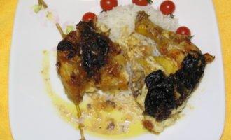 Цыплёнок с черносливом