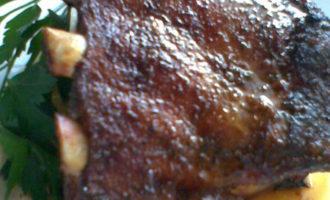 Свинной бочек запеченный