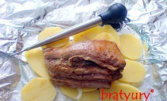Грудинка свиная в духовке. авторский рецепт