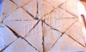 Вафельные треугольнички или ленивые пирожки
