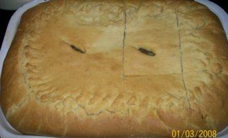 Пироги из бездрожжевого сдобного теста (с мясом и с яблоками)