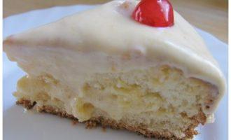 Апельсиновый торт-кекс с нежнейшим кремом