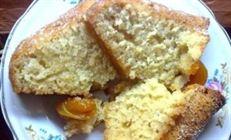 Сочный кекс с абрикосами