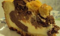 Творожный пирог с шоколадом
