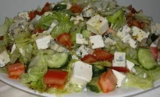 Греческий салат(мой вариант)