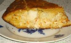 Пирог с палтусом (мой вариант)