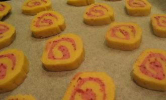 Печенье апельсиновое с клюквой