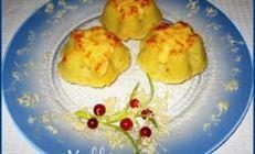 Мини-запеканка из картофеля с мясом и сладким перцем