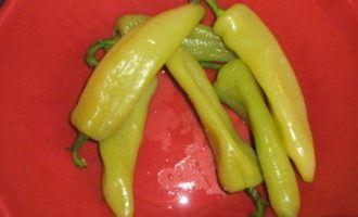 Жаренные болгарские перцы
