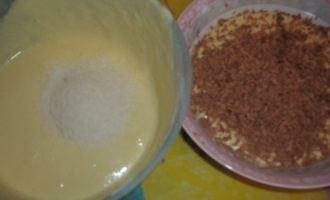 """Торт """"шоколадно-кокосовый микс"""""""