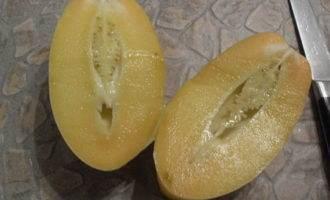 Crępes (блинчики) с начинкой из пепино