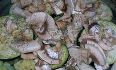 Паштет с баклажанами, грибами и прованскими травами