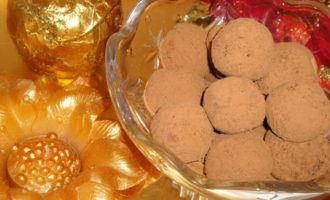 Миндально-шоколадные конфеты