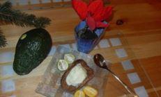 """Авокадовое мороженное и печенье """"карат"""""""