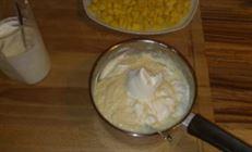 Манго-ванильный крем