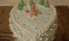 """Торт """"новогодняя сказка"""""""
