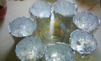 Яйцо в стаканчике