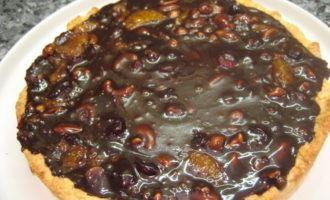 Флорентийский пирог (наоборот) с шоколадной ириской