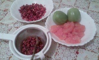 "Салат ""три фрукта"""