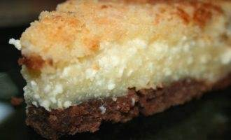 Творожный пирог с хрустящей корочкой