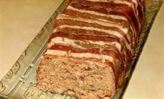 Террин из гусиной печенки со свининой