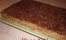Торт – пирожное «микадо»