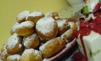 Постные дрожжевые пончики