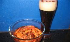 Креветки королевские к american brown ale