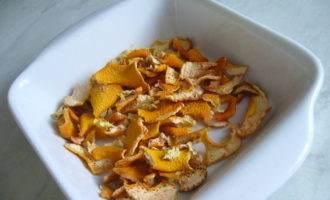 Соль с ароматом апельсина и имбиря (ароматная приправа к салатам)