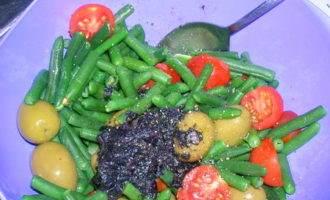 Карп с овощами в базиликовом соусе