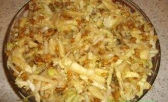 """Салат витаминный с сельдереем """"вторник"""""""