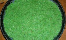 Запеканка зеленая-зеленая (горохово-миндальная)