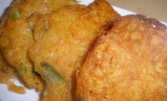Тайские оладьи из рисовой лапши
