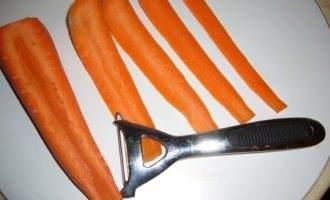 Бантик из моркови (по просьбе дорогих кулинаров)