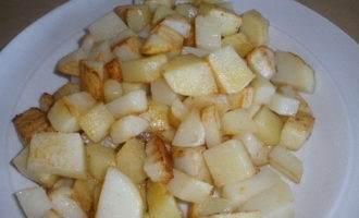 Карри из картофеля и баклажанов