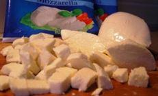 Цукини и шампиньоны запеченые с сыром моцарелла