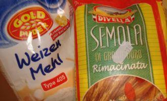 Pasta freska con crema - паста с соусом альфредо